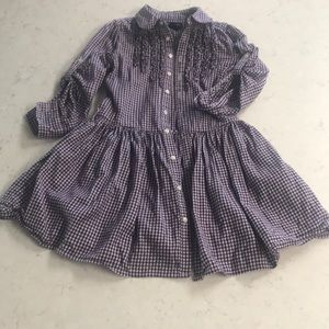 Girls Picnic Dress